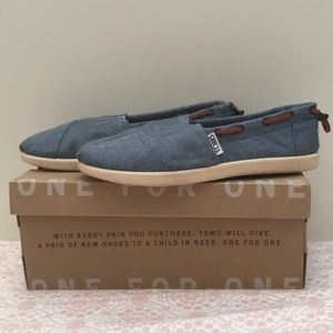 TOMS Chambray Bimini Shoes for Youth